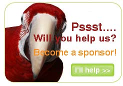 Become a sponsor of the Dutch Parrot Foundation